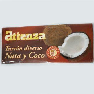 turrón nata y coco