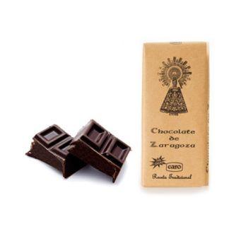 chocolate de zaragoza al cacao artesano