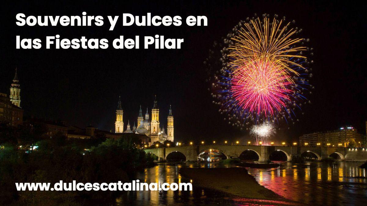 Souvenirs y Dulces en las Fiestas del Pilar